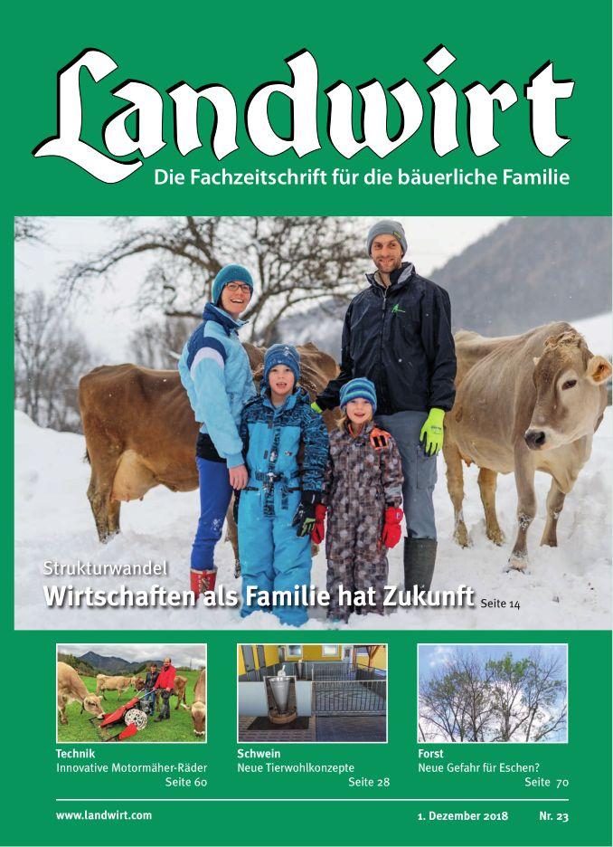 Landwirt Titelseite